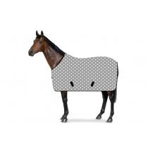 RS4 Stall- und Weidedecke Sternchen grau