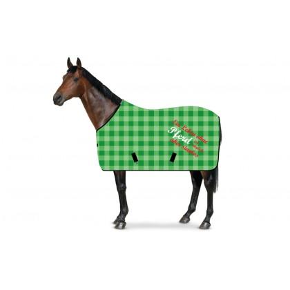 RS4 Stall- und Weidedecke ohne Pferd Karo