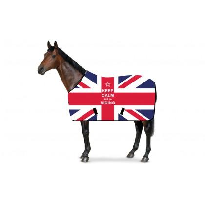 RS4 Stall- und Weidedecke UK Keep Calm