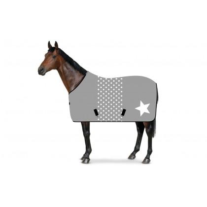 RS4 Stall- und Weidedecke Sternchen plus Stern grau