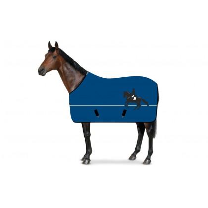 SweatStar Abschwitzdecke Dressur blau